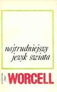 Okładka książki Najtrudniejszy język świata