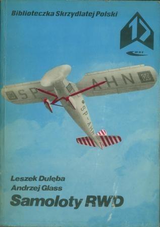 Okładka książki Samoloty RWD