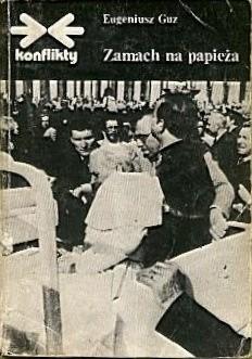 Okładka książki Zamach na papieża