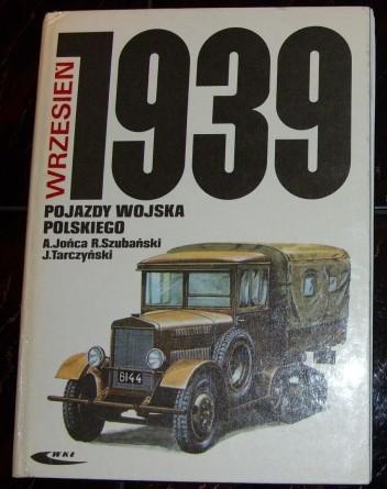 Okładka książki Pojazdy wojska polskiego. Wrzesień 1939