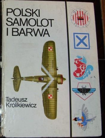 Okładka książki Polski samolot i barwa