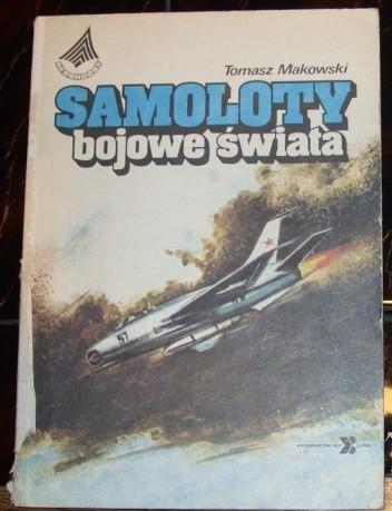 Okładka książki Samoloty bojowe świata