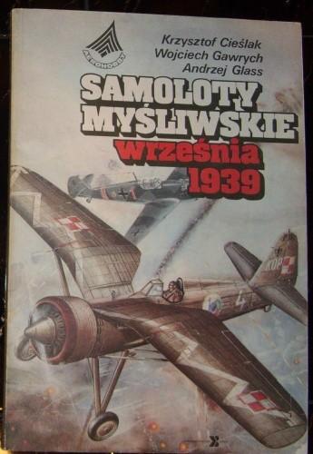 Okładka książki Samoloty myśliwskie września 1939