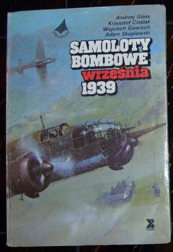 Okładka książki Samoloty bombowe września 1939