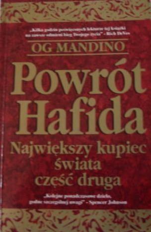 Okładka książki Powrót Hafida Największy kupiec świata część druga