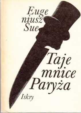 Okładka książki Tajemnice Paryża