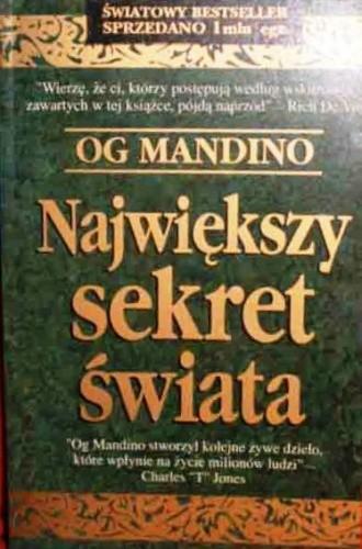 Okładka książki Największy sekret świata
