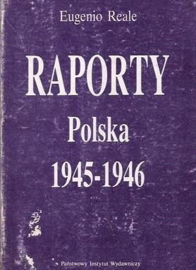Okładka książki Raporty Polska 1945-1946