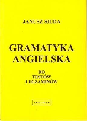 Okładka książki Gramatyka angielska do testów i egzaminów