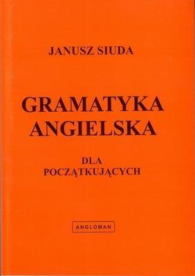 Okładka książki Gramatyka angielska dla początkujących