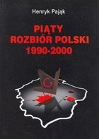 Okładka książki Piąty rozbiór Polski 1990-2000