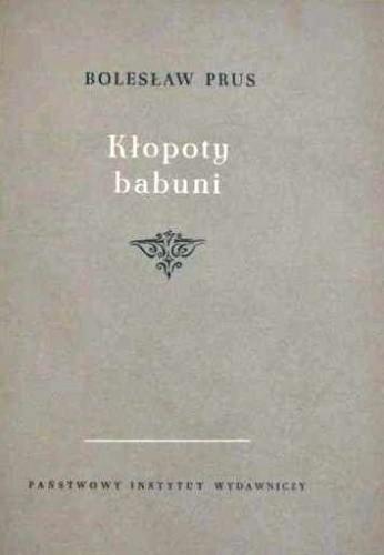 Okładka książki Kłopoty babuni