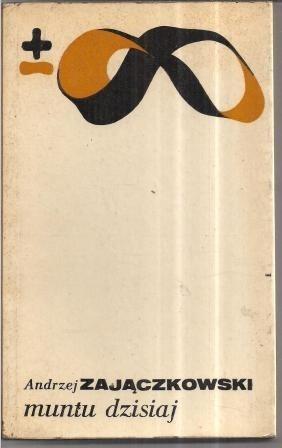 Okładka książki Muntu dzisiaj. Studium afrykanistyczne.