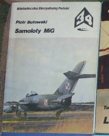 Okładka książki Samoloty MIG