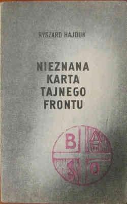 Okładka książki Nieznana karta tajnego frontu