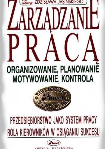 Okładka książki zarządzanie pracą - e-book