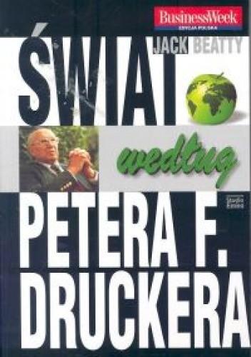 Okładka książki Swiat wedlug Petera F.Druckera /St.Emka/