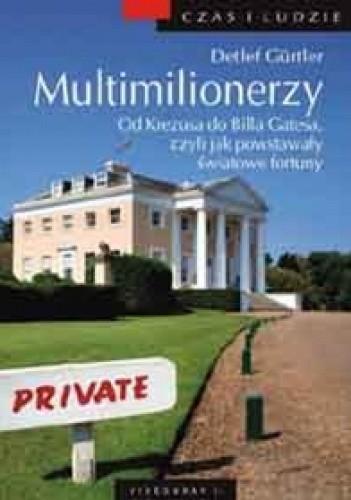Okładka książki Multimilionerzy