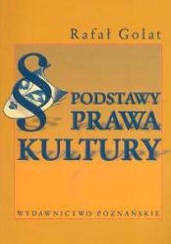 Okładka książki Podstawy prawa kultury