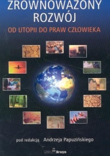 Okładka książki zrównoważony rozwój - Papuziński Andrzej