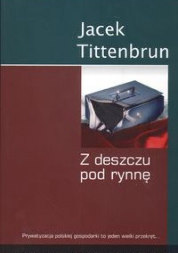 Okładka książki Z deszczu pod rynnę. Meandry polskiej prywatyzacji. Tom IV
