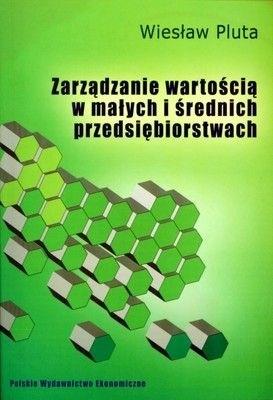 Okładka książki Zarządzanie Wartością w Małych i Średnich Przedsiębiorstwach