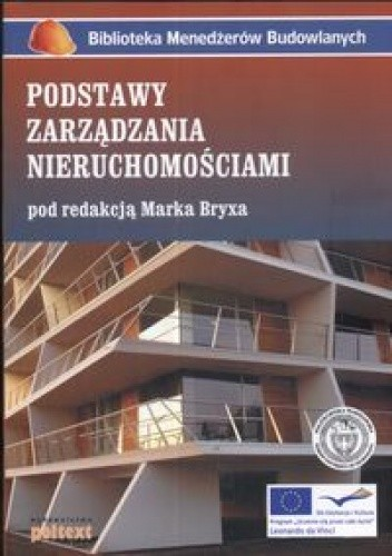 Okładka książki Podstawy zarządzania nieruchomościami