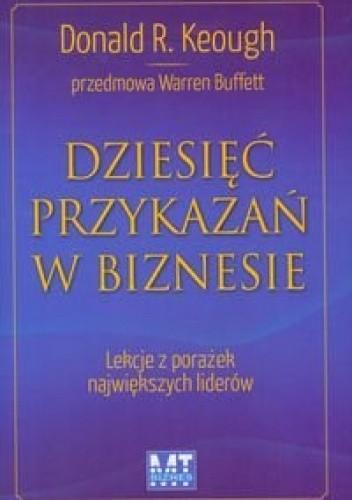 Okładka książki Dziesięć przykazań w biznesie