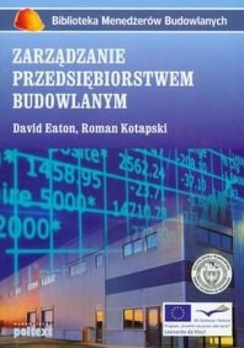 Okładka książki zarządzanie przedsiębiorstwem budowlanym