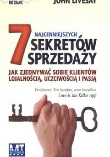 Okładka książki 7 najcenniejszych sekretów sprzedaży