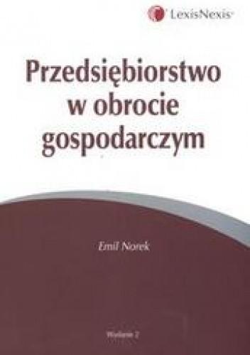 Okładka książki Przedsiębiorstwo w obrocie gospodarczym