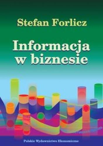 Okładka książki Informacja w biznesie