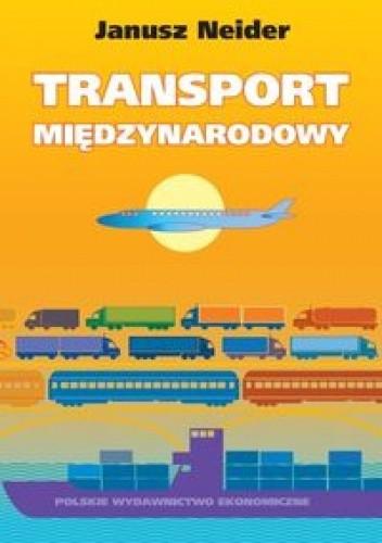 Okładka książki Transport międzynarodowy