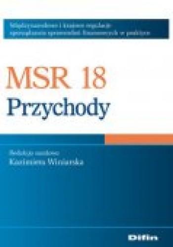 Okładka książki MSR 18. Przychody