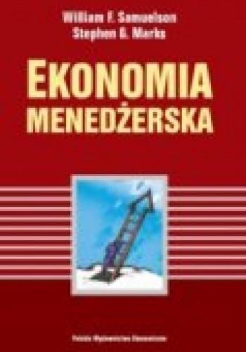 Okładka książki Ekonomia menedżerska