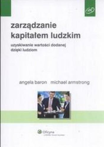 Okładka książki zarządzanie kapitałem ludzkim /Uzyskiwanie wartości dadanej dzięki ludziom