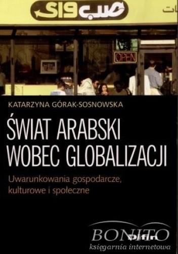 Okładka książki świat arabski wobec globalizacji