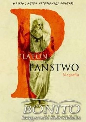 Okładka książki Platon Państwo biografia