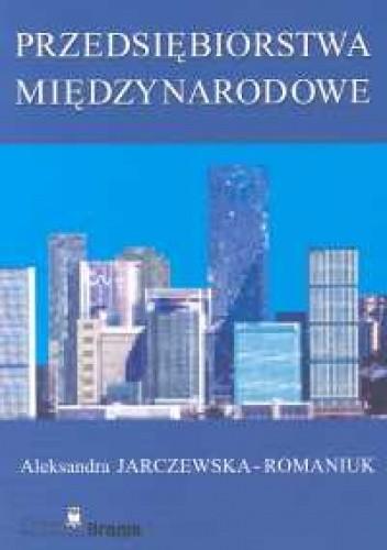 Okładka książki Przedsiębiorstwa międzynarodowe