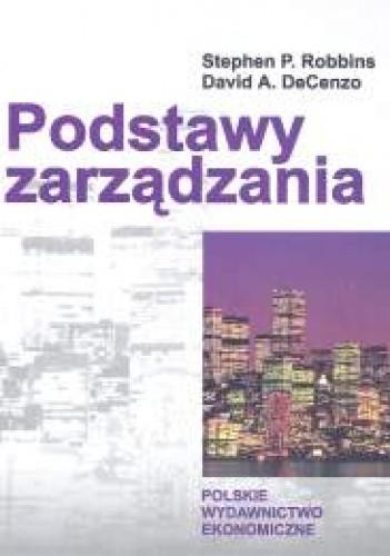 Okładka książki Podstawy zarządzania