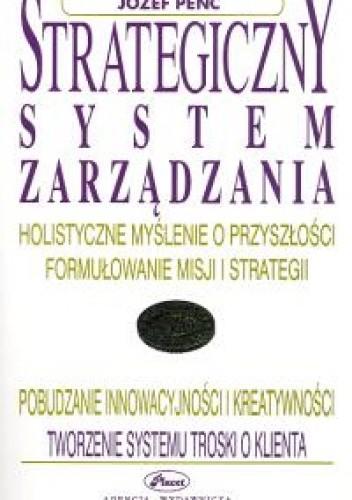 Okładka książki Strategiczny system zarządzania