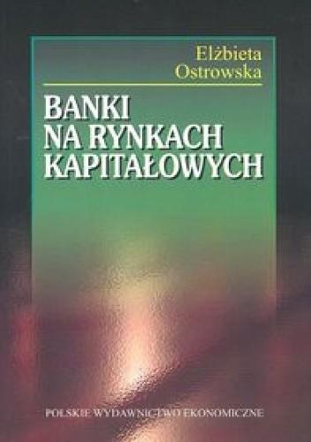 Okładka książki Banki na rynkach kapitałowych