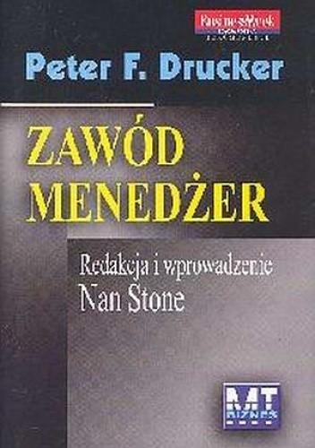 Okładka książki Zawód menedżer