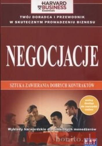 Okładka książki Negocjacje Sztuka zawierania dobrych kontraktów