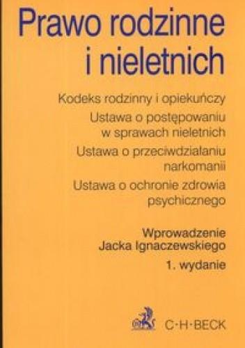 Okładka książki Prawo rodzinne i nieletnich