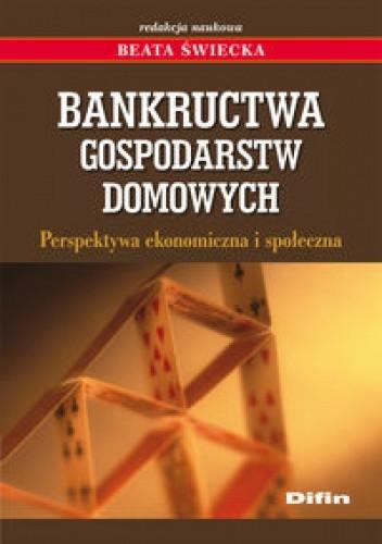 Okładka książki Bankructwa gospodarstw domowych