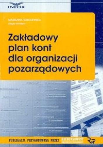 Okładka książki Zakładowy plan kont dla organizacji pozarządowych
