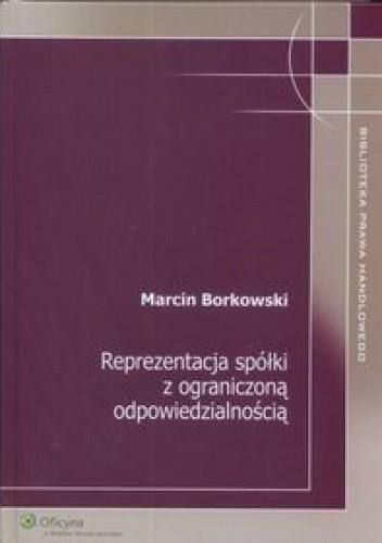 Okładka książki Reprezentacja spółki z ograniczoną odpowiedzialnością