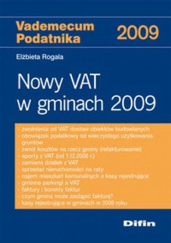 Okładka książki Nowy VAT w gminach 2009