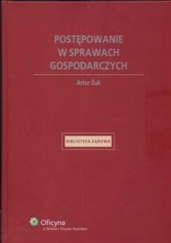 Okładka książki Postępowanie w sprawach gospodarczych